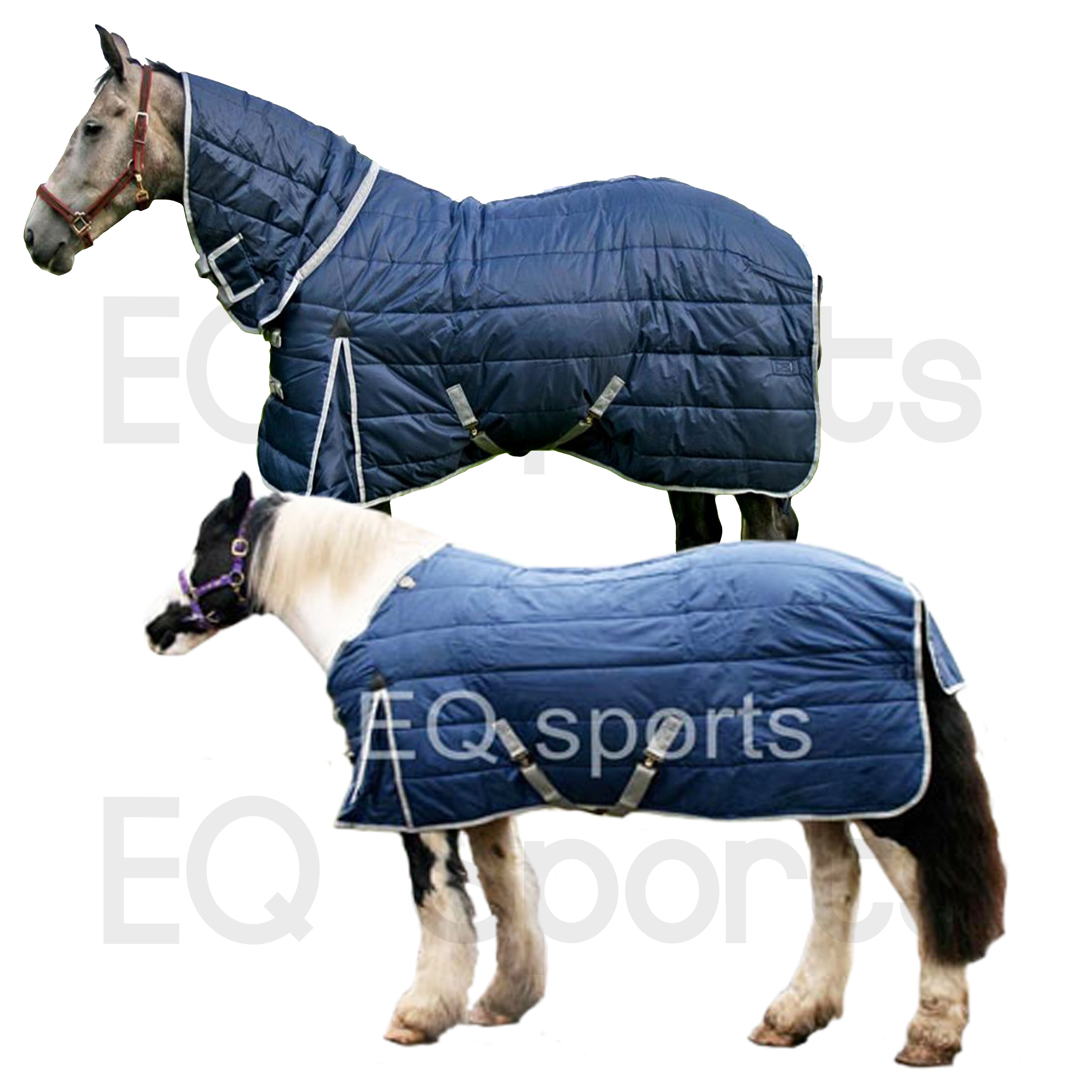 """7/'3/"""" QUALITY MEDIUM WEIGHT WITH 420D TOUGH OUTER RED STABLE RUG 4/'9/"""""""